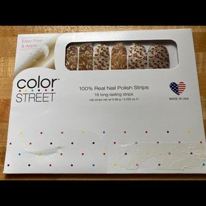 "RETIRED - ""Harvest Blooms"" Color Street Nail Strip"